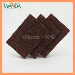 Dur et toilette durable produit de nettoyage Scrubber Pad tampons à récurer