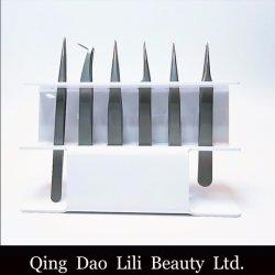 Brucelles en acrylique stand stand pratique de la pince à épiler maintenez 6 pcs Stand de brucelles de faire de l'outil
