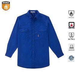 Fr 면 의류 프레임 사무실과 기업에 사용되는 저항하는 일 셔츠