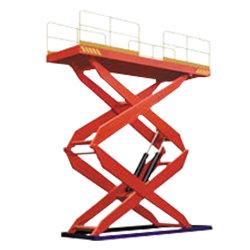 [لت ديأيشن] ثابتة هيدروليّة مقصّ مصعد (مقصّ مزدوجة)