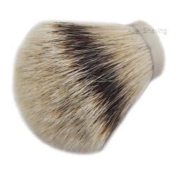 結び目のサイズ27mm Silvertipのアナグマの毛の剃るブラシの理髪師のアクセサリ