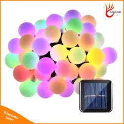 50 Индикатор шарового String фонари на солнечной энергии рождественские украшения лампа
