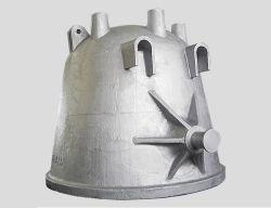 De Pot van slakken voor de Staalfabriek van Mill& van het Staal