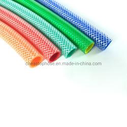 Hot Sale flexibele transparante gevlochten doorzichtige PVC-slang