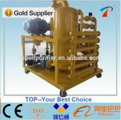 Estágio duplo máquina de filtragem do óleo dielétrico de vácuo (ZYD-50)