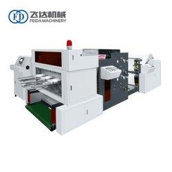 Heißes Verkaufs-Papiercup-Ventilator-Rollenstempelschneidene Maschine mit Flexo Drucken und Metall sterben, Maschinerie zu lochen