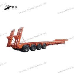 3 asse 40 dell'asse 5 dell'asse 4 60 80 di 120 tonnellate di Gooseneck resistente del caricatore/Lowbed/Lowboy della base di rimorchio del camion rimorchi bassi bassi semi per trasporto dell'escavatore
