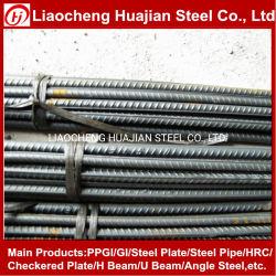 Laminados a quente de tiras de aço carbono rosca do parafuso da barra de aço
