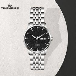 빛난 우아한 자동적인 시계 방수 스테인리스 남자의 시계 (72389)
