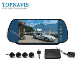 LCD TFT de 7 pulgadas del sensor de aparcamiento de vídeo