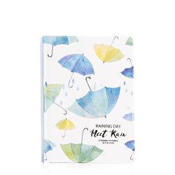Qy-Pn14 la moins chère de couvrir de papier épais de pleuvoir parapluie pour ordinateur portable à couverture rigide en vrac de l'impression personnalisée
