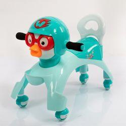 Crianças Torça Walker roda da polia de brinquedo Aluguer de carro de passeio para bebês de Giro no carro do Saca-bebé