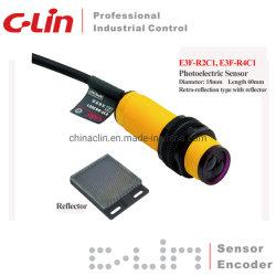 Lange afstand van de Sensor van de retro-Bezinning van E3f-R2c1 de Foto-elektrische
