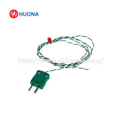 Thermocouple type K / J fil avec le connecteur