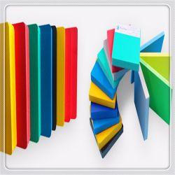 De flexibele Plastic Kleurrijke Uitgebreide Stevige Stijve Raad/het Comité/het Blad van het pvc- Schuim