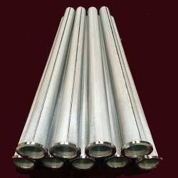 Brida Integral tubo del filtro de pantalla de metal de diversas especificidades