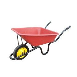아프리카 단단한 플라스틱 쟁반 건축 외바퀴 손수레