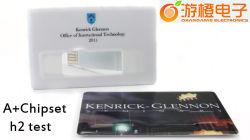 카드 호리호리한 작풍 USB 섬광 드라이브 (OM-P514)