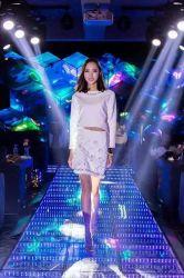 Discoteca de la boda en 3D de la luz LED Espejo Pista de Baile / Danza LED DMX 512 paneles de suelo