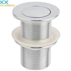Pop-up da Bacia de latão cromado resíduos Kx-D004