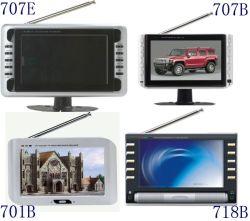 Téléviseur portable 7 pouces avec DVB-T, port USB et lecteur de carte (KL-TVC707E / 707b / 701b / 718B)