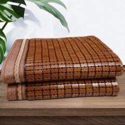 Cama de bambú chino alfombrilla para el Hotel