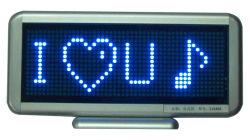 青いカラー机LEDの移動印16X48