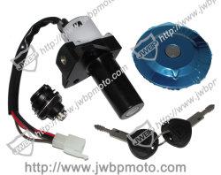 Las ventas de motos antirrobo Patentd popular de bloqueo de las piezas con 2 llaves