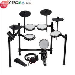 Set de batterie électrique de la musique drum Electronic Drums tambour acoustique fût métallique de Tor Set set de batterie électronique