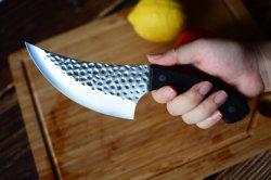 Il classico una linguetta completa di 5.5 pollici ha forgiato la lama d'acciaio della mannaia di carne con la maniglia di legno