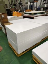 100% de la fábrica de PTFE Teflón el moldeo de plástico moldeado Skived/lámina de PTFE