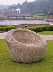 Яйцо в саду форму плетеной диван
