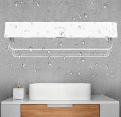 Aparato doméstico en la pared Toallas estantería radiador
