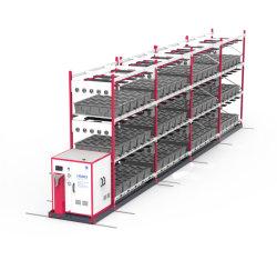 Système de la culture hydroponique serre grandir avec système de commande automatique de l'éclairage d'arrosage de la nutrition et de la température de l'humidité