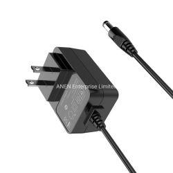 ULによって証明される米国のプラグ15Wのユニバーサル外部コンバーター12V 1Aは出力切換えのモードの電源9Vの壁の変圧器5V 2A 3A AC DC電源のアダプターを選抜する