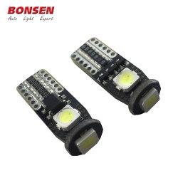 Lâmpada LED Canbus automático T10 W5W Luz Direcional fábrica 5252 SMD