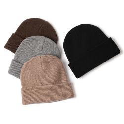 Comercio al por mayor de tejido Beanies Cable Crochet Hat Hat Gorro de punto las tapas de invierno