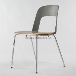 Diseño de Italia China Wholesale Metal Plástico MADERA Silla de Comedor Muebles de acento