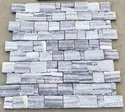 На заводе дешевого легкого серого сланца настенные панели оболочка культурных камень на продажу