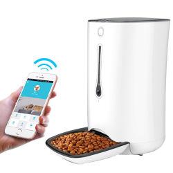 新しいスマート WiFi リモートコントロールマイクロチップ自動ペットボウルフィーダー カメラ付き