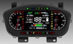 Dashboard/combinatie van hoogwaardig elektrisch voertuig, instrumentenpaneel/oscilloscoop/LCR-meter/geluidsniveaumeter 648