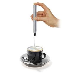 Bewegliche kaffee-Mischer-Milch Frother des Edelstahl-12V batteriebetriebene Handmini