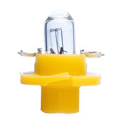 مصابيح مجموعة أجهزة القياس T5 B8.4D باكست8.4D 12 فولت تلقائي 1.2 وات مصباح مؤشر المصابيح الصغيرة