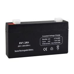 6V1.3ah für backup Notleuchte-Kind-Spielzeug-Auto-Lead-Acid Druckspeicher-Abwechslungs-Pflege der Energien-LED