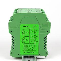 4-20 مللي أمبير 1-5 فولت 0-10 فولت درجة الحرارة عازل الإشارة التناظري PT100 إدخال الإشارة محول RTD
