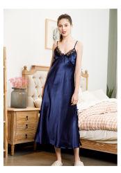 Cor pura Satin Lace Nightgown lingerie sexy