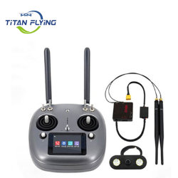 ناقل الحركة الرقمي Drone Drayer Drone من وحدة التحكم عن بُعد Siyi Vd32 نظام 2.4G 2 كيلو وحدة إرسال FPV