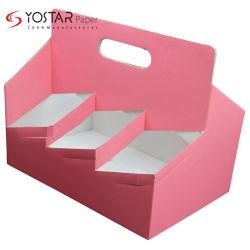 Manípulo de copos de papel ondulado descartáveis titular para café xícara de chá de leite