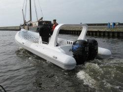 Steife aufblasbare Boots-Rippe 730B mit der Doppelmaschine - sehr heiß