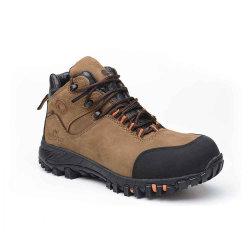 Los hombres de corte medio de la seguridad de camuflaje Puntera compuesto Senderismo Alpinismo zapatos